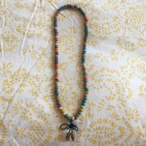 Chinese colorful necklace